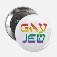 "Gay Jew 2.25"" Button"