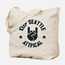 Keep Seattle Atypical Tote Bag