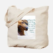 The Dachshund Tote Bag