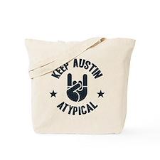 Keep Austin Atypical Tote Bag