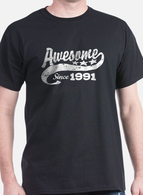 Awesome Since 1991 T-Shirt