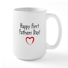 Happy First Fathers Day! Mug