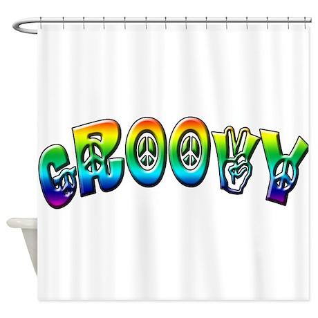Groovy Shower Curtain