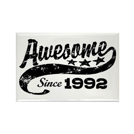 Awesome Since 1992 Rectangle Magnet