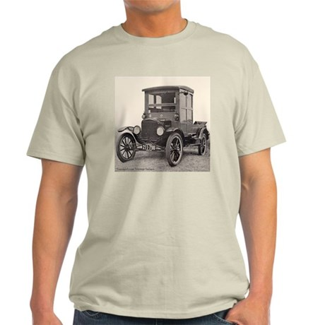 Antique Auto Car Photograph Ash Grey T-Shirt
