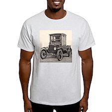 Antique Auto Car Photograph Ash Grey T-Shirt