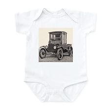 Antique Auto Car Photograph Infant Bodysuit