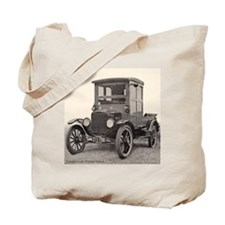 Antique Auto Car Photograph Tote Bag