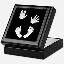 Trekkie Baby Hands and Feet Keepsake Box