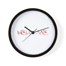 Help Me Wall Clock