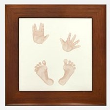 Baby Trekkie Design 2 Framed Tile