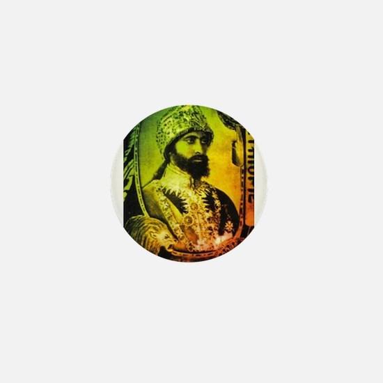 Haile Selassie Mini Button