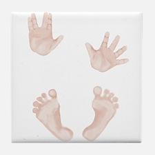Baby Trekkie Design 2 Tile Coaster