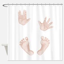 Baby Trekkie Design 2 Shower Curtain