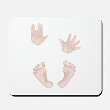 Baby Trekkie Design 2 Mousepad