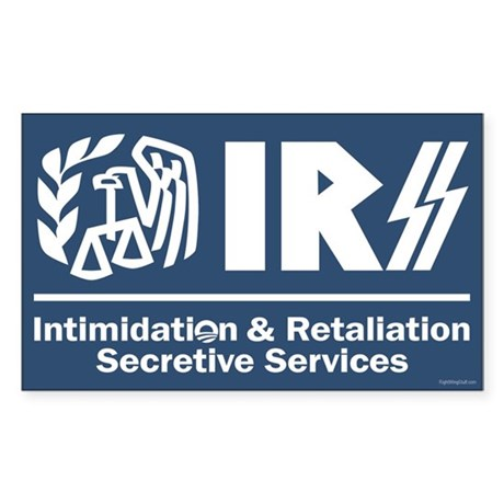 Anti-IRS Sticker (Rectangle)
