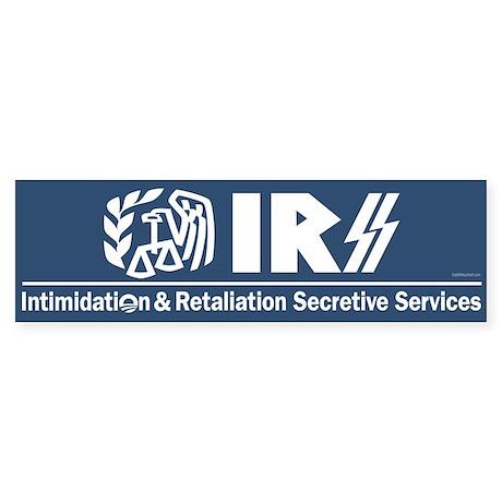 Anti-IRS Sticker (Bumper)