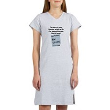 pharmacist STUPID Women's Nightshirt
