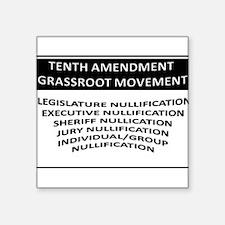 Tenth Amendment Sticker