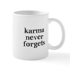 Karma Never Forgets Mug