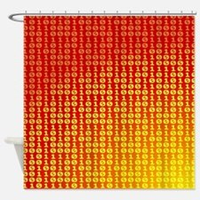 Hot bits Shower Curtain