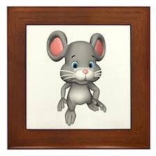Quiet Mouse Framed Tile