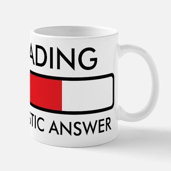 Loading Sarcastic Answer Mug
