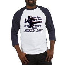 Martial Arts Therapy Baseball Jersey