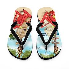 Loving Key West Flip Flops