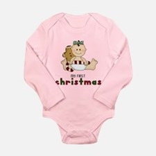 My First Christmas (Girl 1) Body Suit