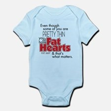 Fat Hearts Body Suit