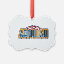 The Amazing Abdullah Ornament