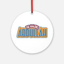 The Amazing Abdullah Ornament (Round)
