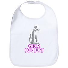 GIRL COON HUNTER Bib
