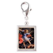 Saint Michael the Archangel Quis ut Deus Silver Po