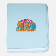The Amazing Ahmad baby blanket