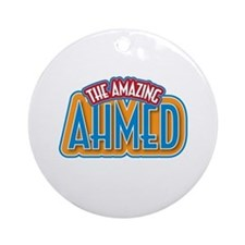The Amazing Ahmed Ornament (Round)