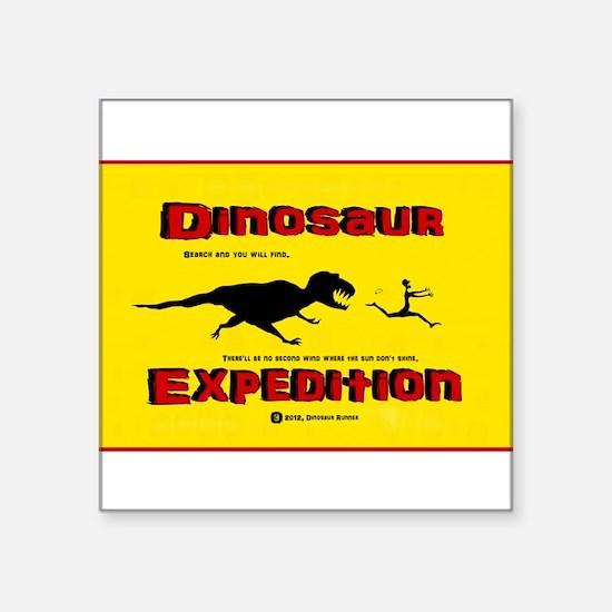 Dinosaur Expedition Runner Sticker