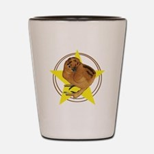 Silkie Chick Star Shot Glass