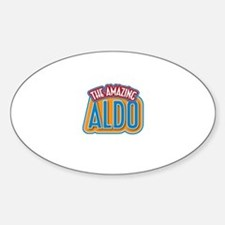 The Amazing Aldo Decal