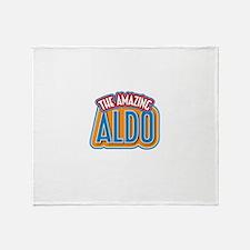 The Amazing Aldo Throw Blanket