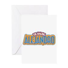 The Amazing Alejandro Greeting Card