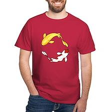 Koi Carp Dark Red T-Shirt