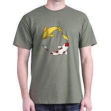 Koi Carp Green T-Shirt