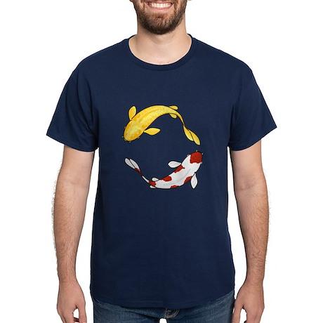 Koi Carp Navy T-Shirt