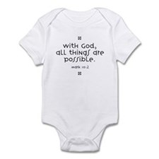 With God Infant Bodysuit