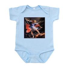 Saint Michael the Archangel Quis ut Deus Infant Bo