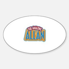 The Amazing Allan Decal
