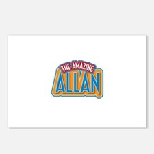 The Amazing Allan Postcards (Package of 8)