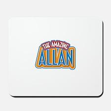 The Amazing Allan Mousepad